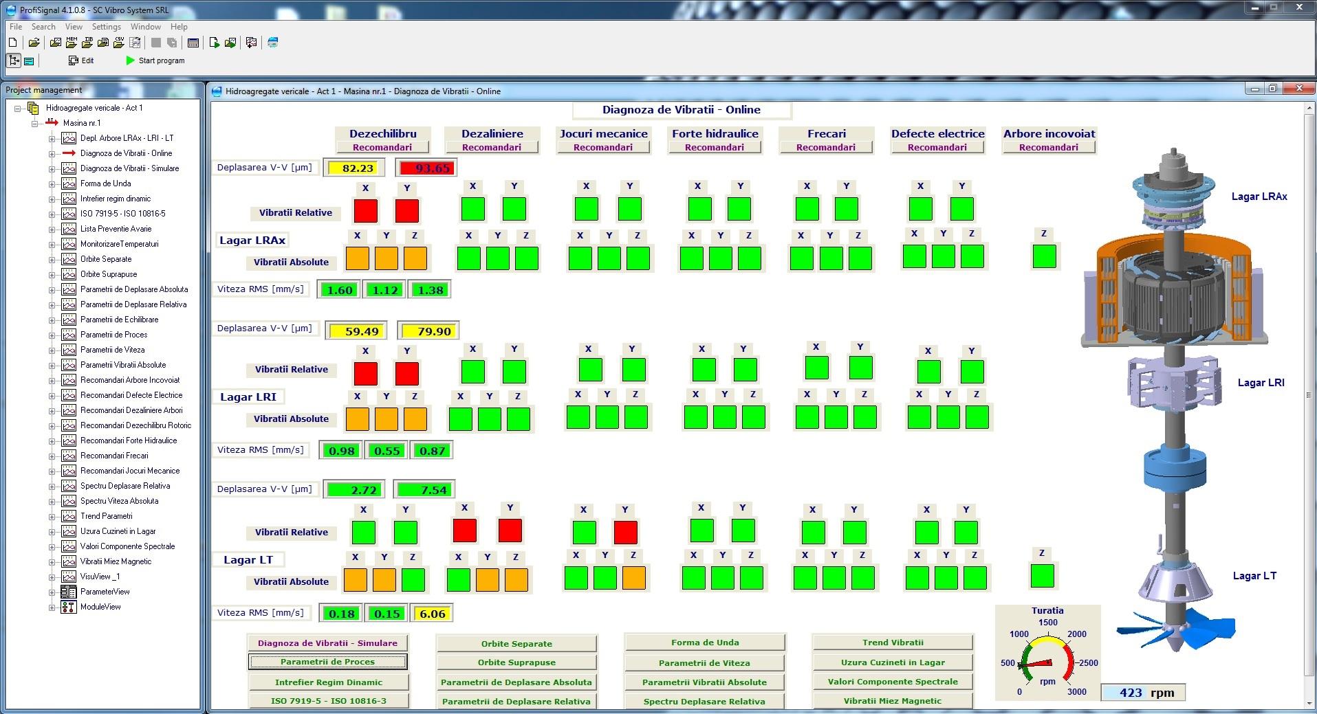 Diagnoza Vibratii - Online HA 20.03.2015
